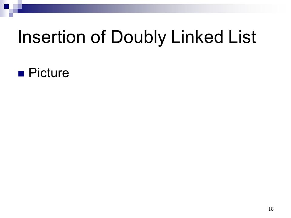 18 Insertion of Doubly Linked List Picture