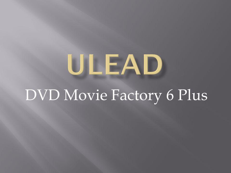 DVD Movie Factory 6 Plus
