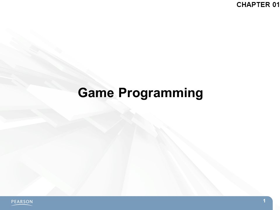 Game Programming CHAPTER 01 1