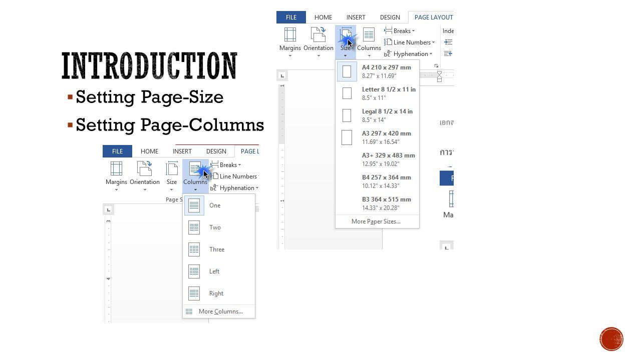  ทบทวนพื้นฐาน  Planning  Content  Reference  Word Online