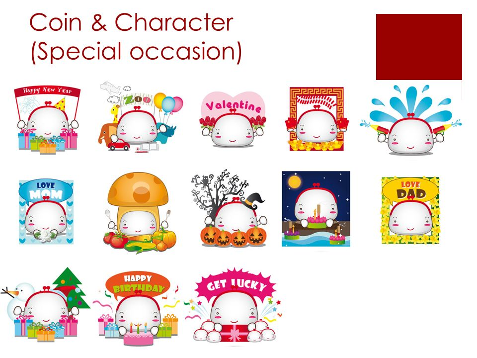 Coin & Character (Special occasion)