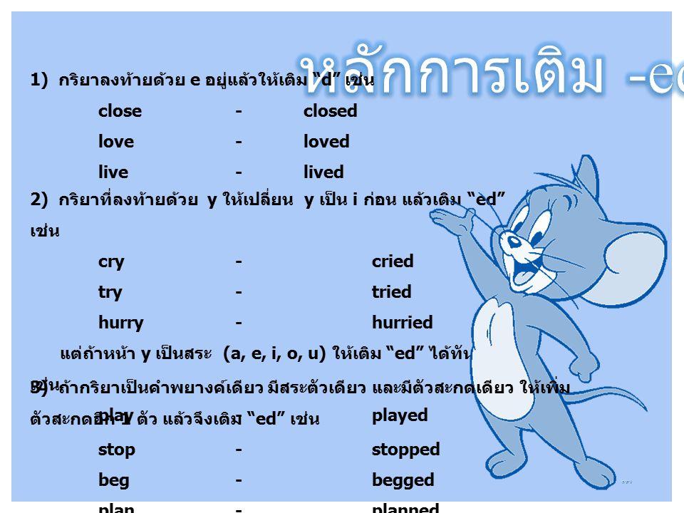 I went to Bangkok last week.I did not go to Bangkok last week.