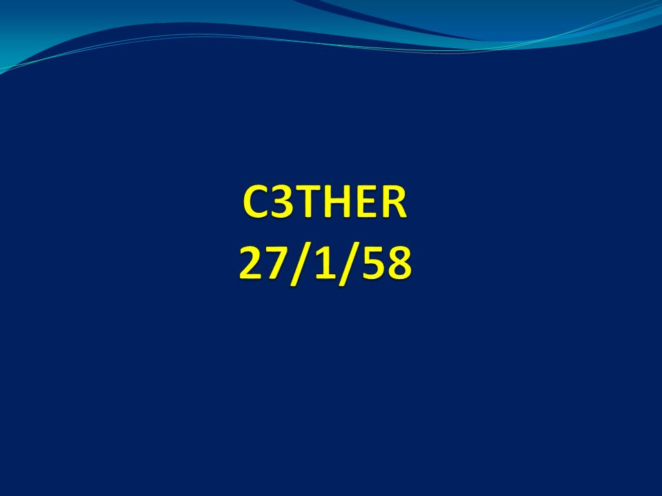 C3THER Care Communication Continuity Team Human resource Environmental and Equipment Record