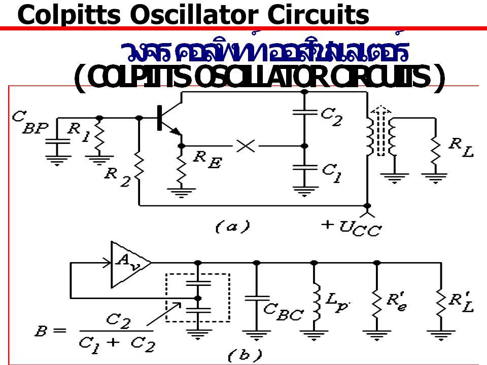 22 Colpitts Oscillator Circuits