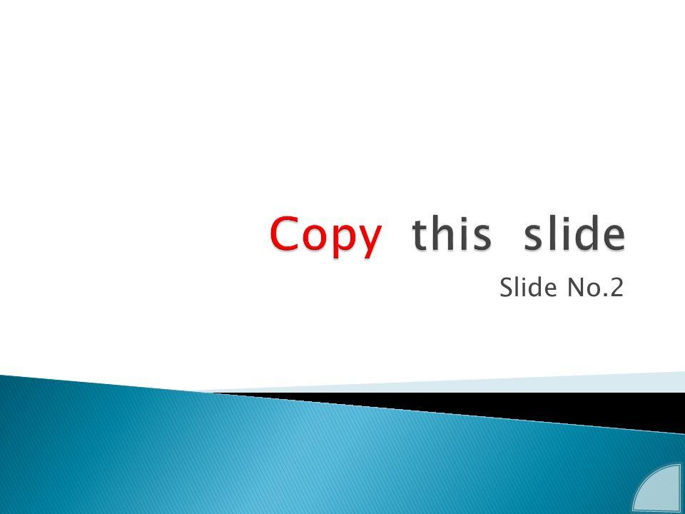 Slide No.2