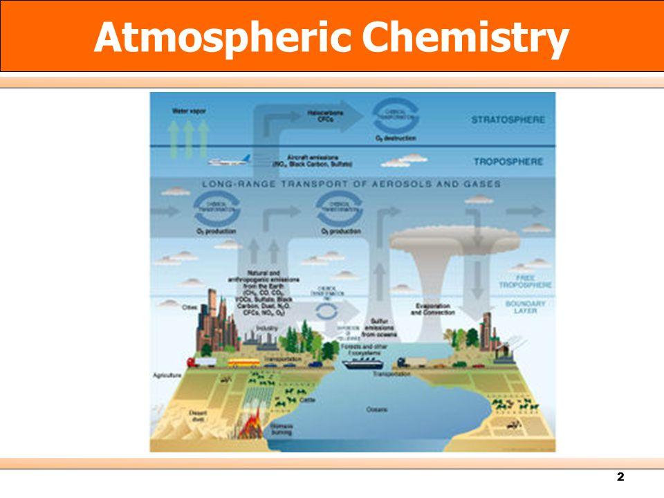 2 Atmospheric Chemistry