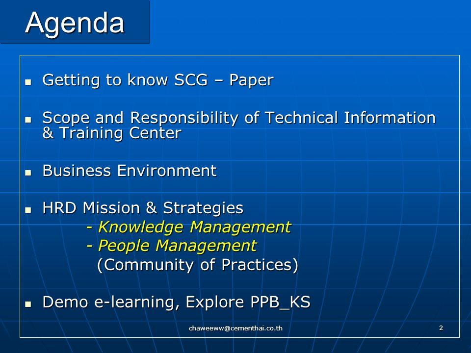 chaweeww@cementhai.co.th 102 PPB KS - Productivity Improvement