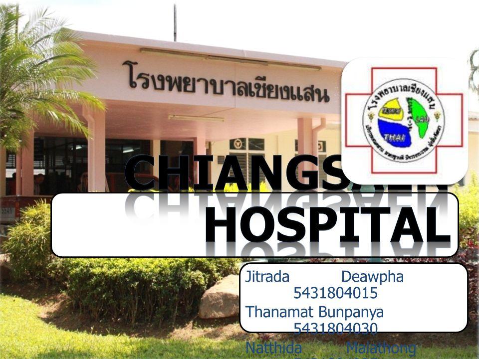 1 Jitrada Deawpha 5431804015 Thanamat Bunpanya 5431804030 Natthida Malathong 5431804035