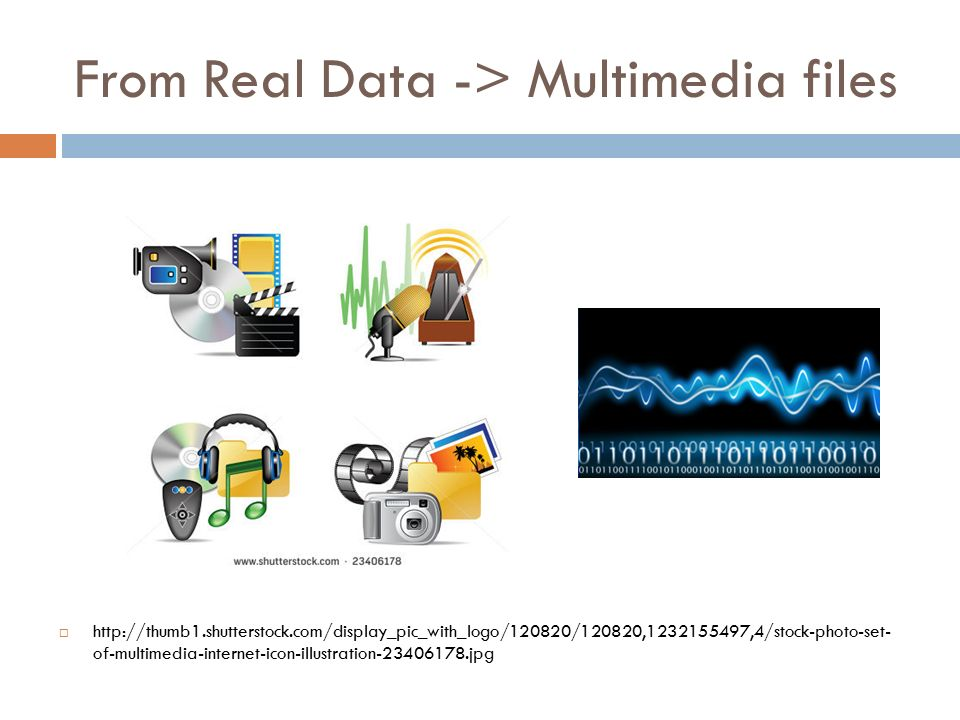 From Real Data -> Multimedia files  https://m1.behance.net/rendition/modules/98824541/disp/7867d1f073fb367e445c87cfa1cde142.jpg ADC (Analog-to-Digital Conversion) Capture info ADC Save to File