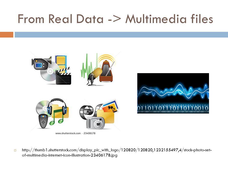Image file format Bitmap / Raster / Spatial pixel-based image.jpg /.tif /.gif /.bmp /.jpg2 /.psd /.png Raster image quality -> resolution Vector Object based Eps (Encapsulated PostScript) Pdf (Portable Document Format) Ai (Adobe Illustrator)