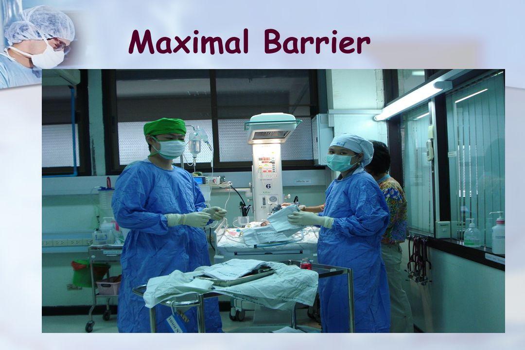 Maximal Barrier