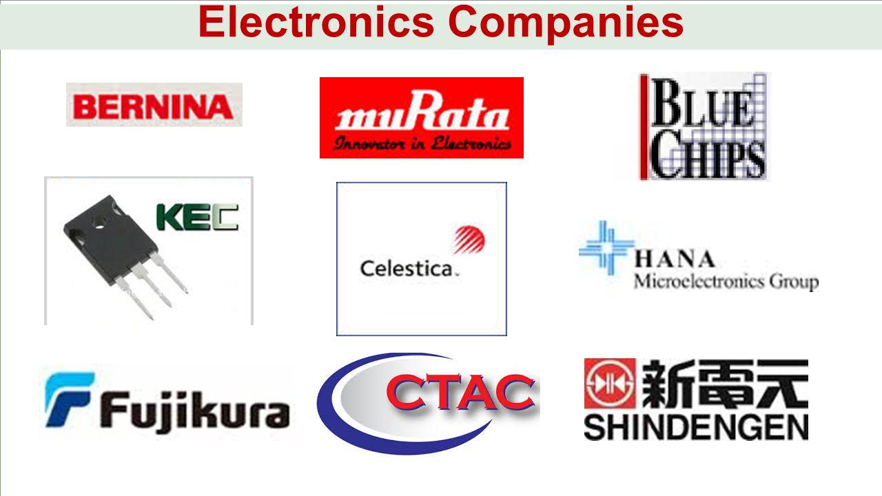 Electronics Companies