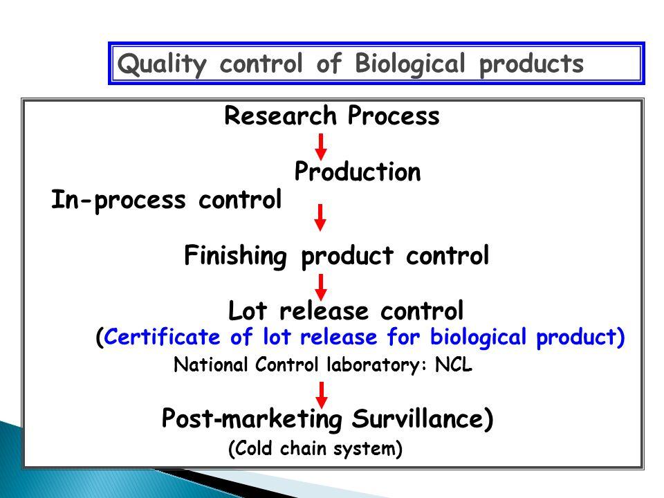  Biochemical assay ◦ Electrophoresis, Flow cytometry, protein analysis, etc.