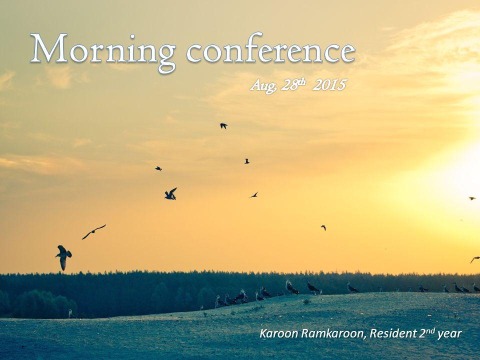 Karoon Ramkaroon, Resident 2 nd year