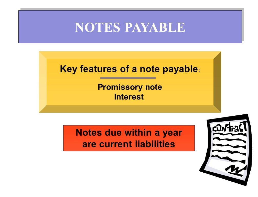 ตั๋วเงินจ่าย – ตั๋วเงินจ่ายการค้า – ตั๋วเงินจ่ายอื่น ตั๋วเงินจ่าย – ตั๋วเงินระบุดอกเบี้ย – ตั๋วเงินไม่ระบุดอกเบี้ย NOTES PAYABLE
