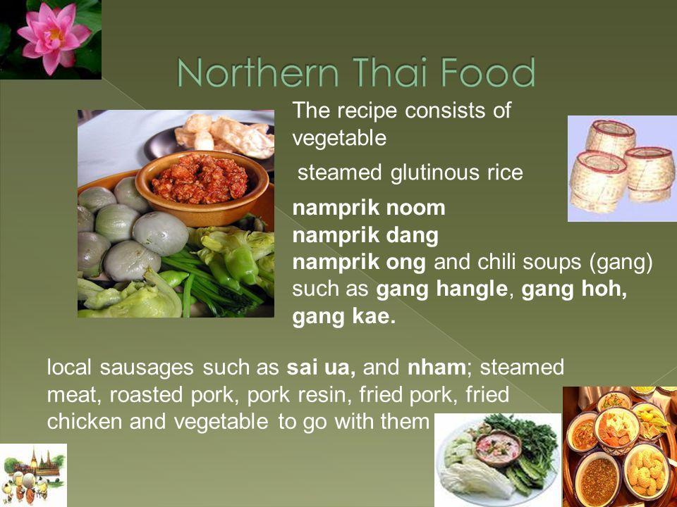 gang leaung gang tai pla budu sauce khao yam Sataw med riang and luk niang