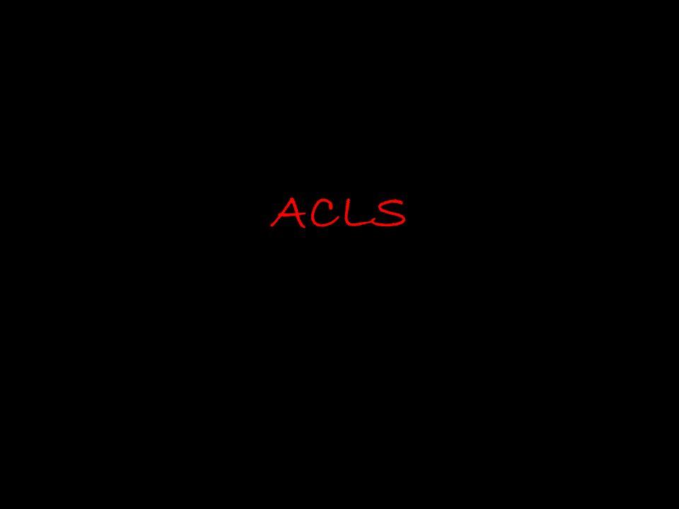 Start CPR Give O2, attach EKG monitor Shockable rhythm? PulselessVT/VFAsystole/PEA yesno