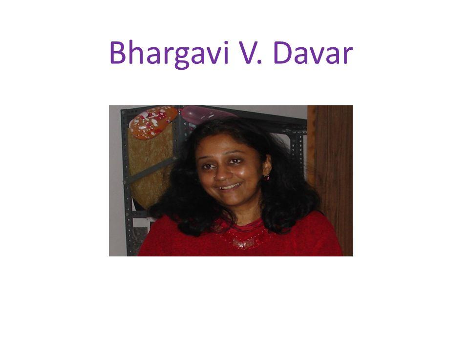 Bhargavi V. Davar