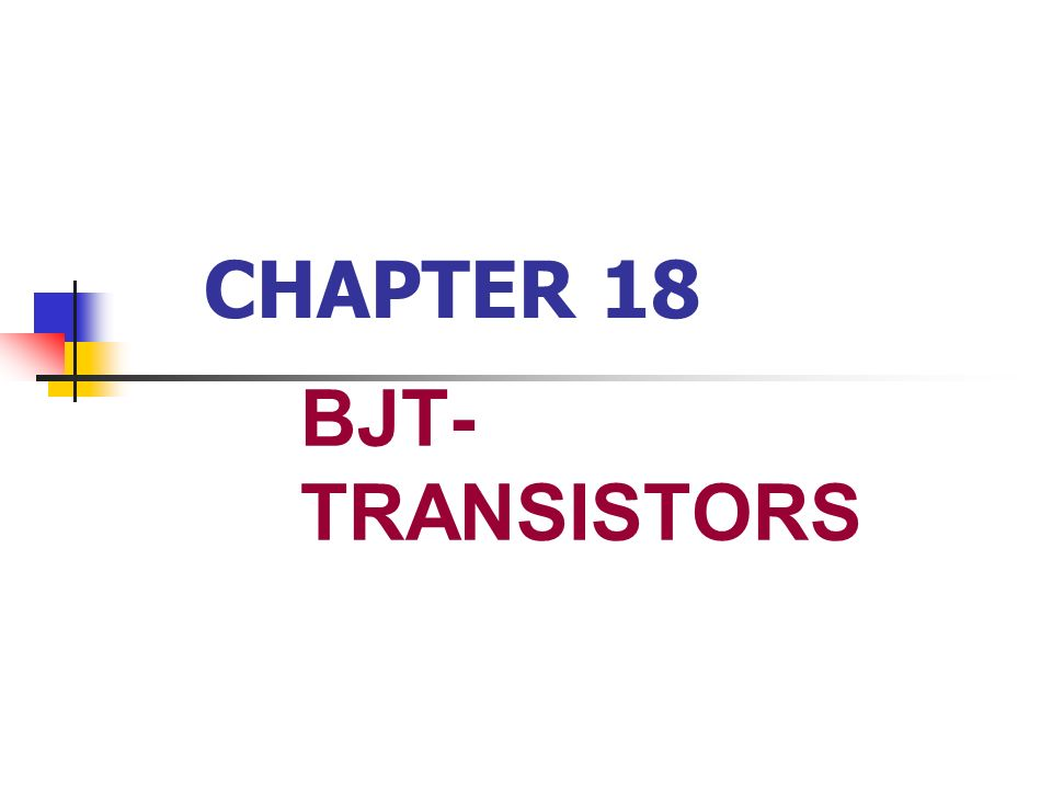 BJT PARAMETERS AND RATINGS IF the temperature goes up, goes up, and vice versa.