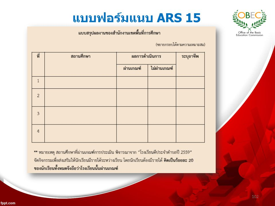 แบบฟอร์มแนบ ARS 15 102