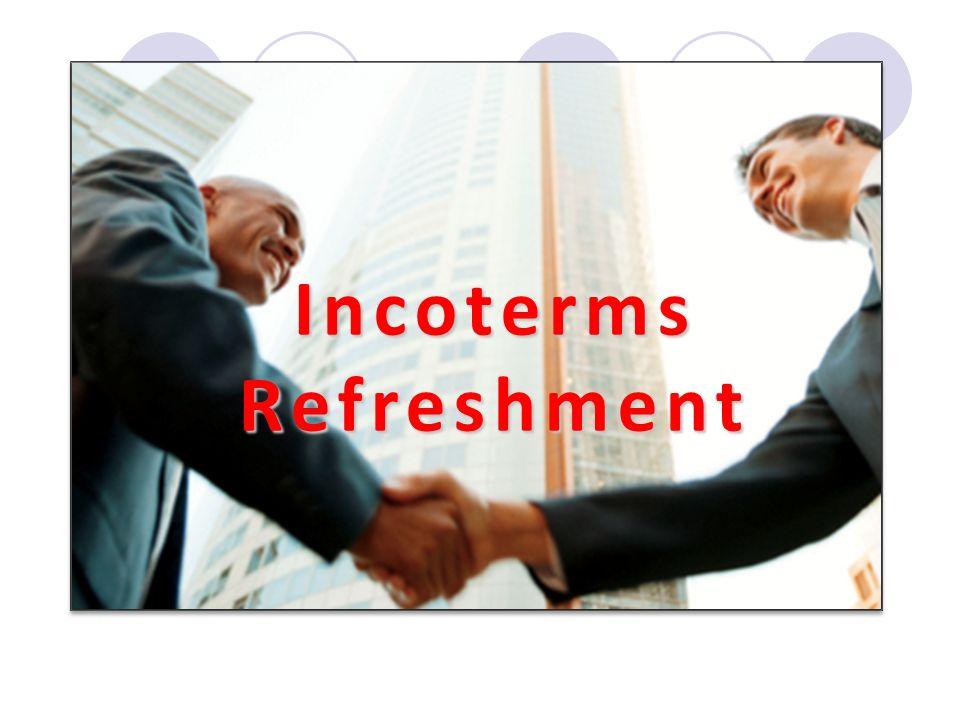 IncotermsRefreshment