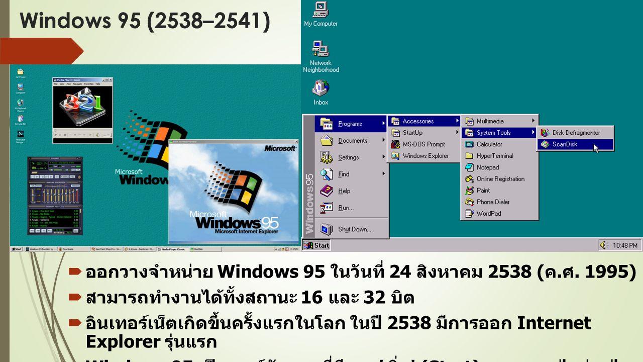  เหตุผลที่จำเป็นต้องข้ามชื่อ Windows 9 ไป เพราะมีปัญหากับชื่อของ Windows 95 และ Windows 98  การเขียน Windows 9 โดดๆ แบบไม่มี extra character มี ความหมายรวม Windows 9, Windows 95 และ Windows 98 ทั้งหมด เมื่อ Windows 9 รันโปรแกรมจะถูกรันในโหมดที่เข้ากับ Windows 95 และ Windows 98 ทันที