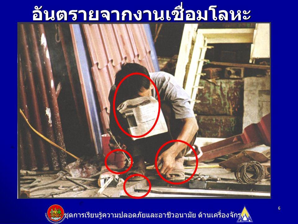 7 ก.อันตรายด้านความปลอดภัย ก. อันตรายด้านความปลอดภัย 1.