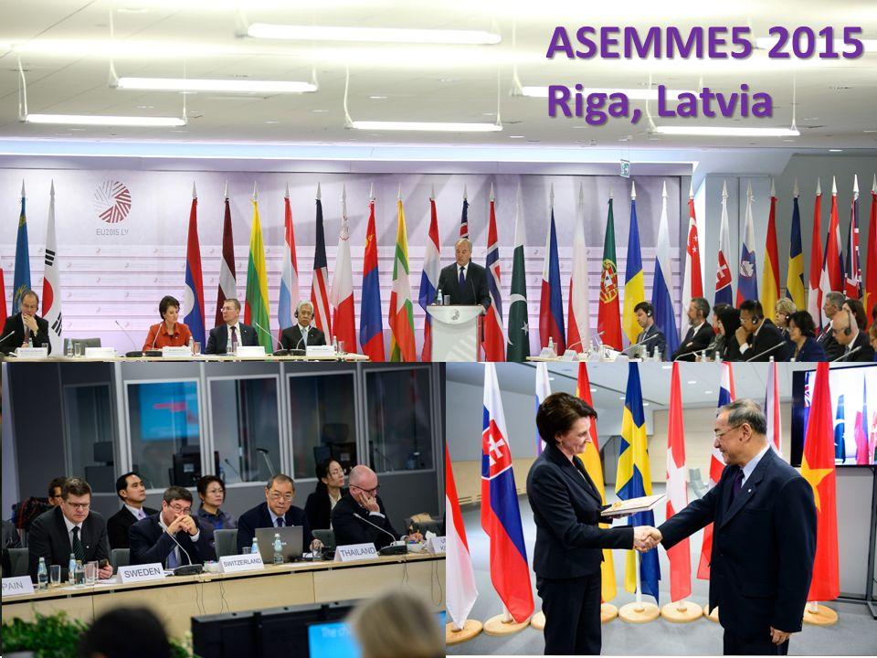 ASEMME5 2015 Riga, Latvia