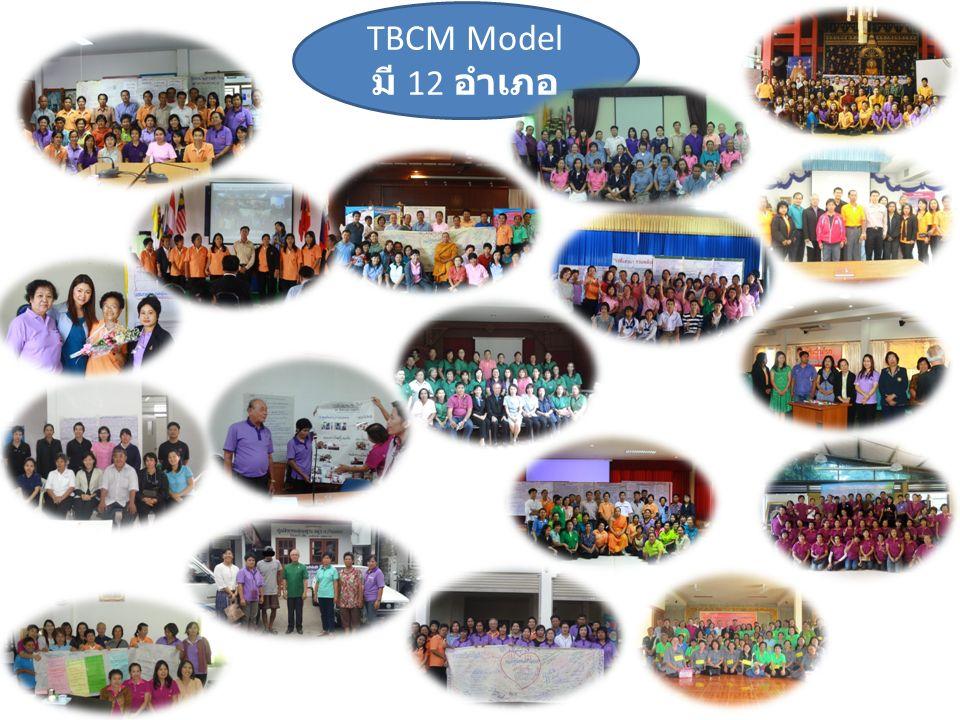 TBCM Model มี 12 อำเภอ