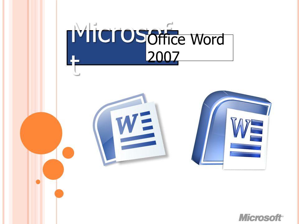 เตรียมความ พร้อม Microsoft Office Word 2007 แดงเขียวน้ำเงิน ม่วงดำเขียว เหลืองส้มน้ำตาล น้ำเงินดำแดง