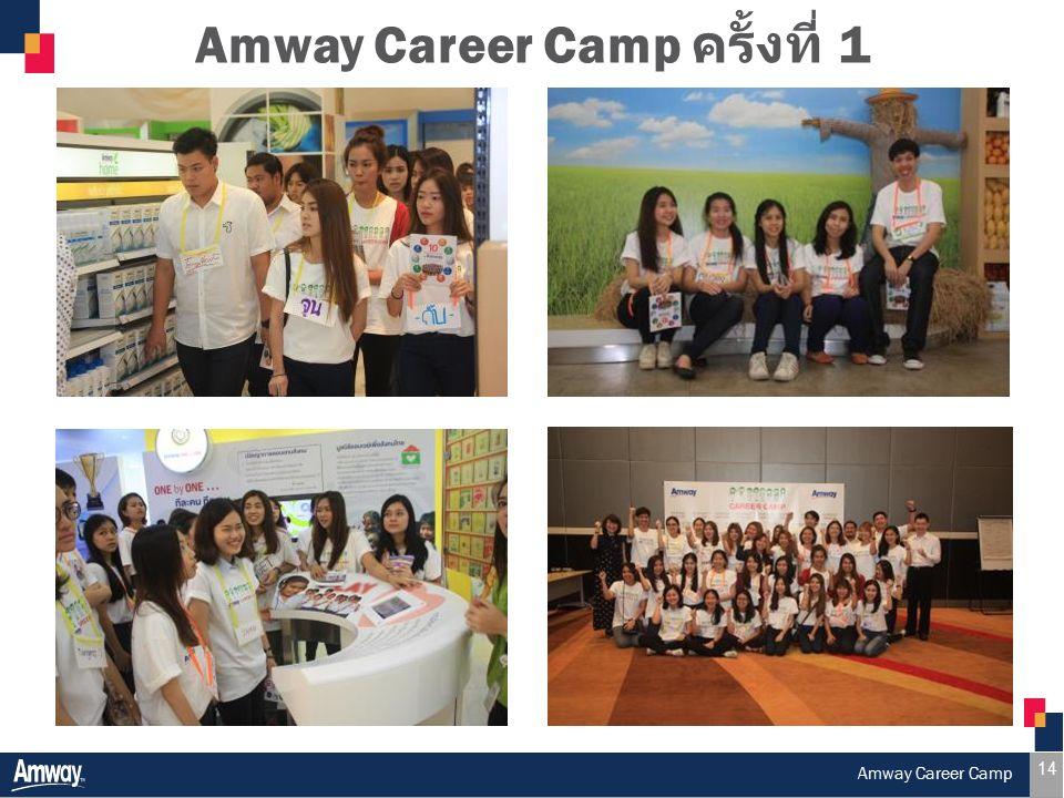 14 Amway Career Camp ครั้งที่ 1 Amway Career Camp