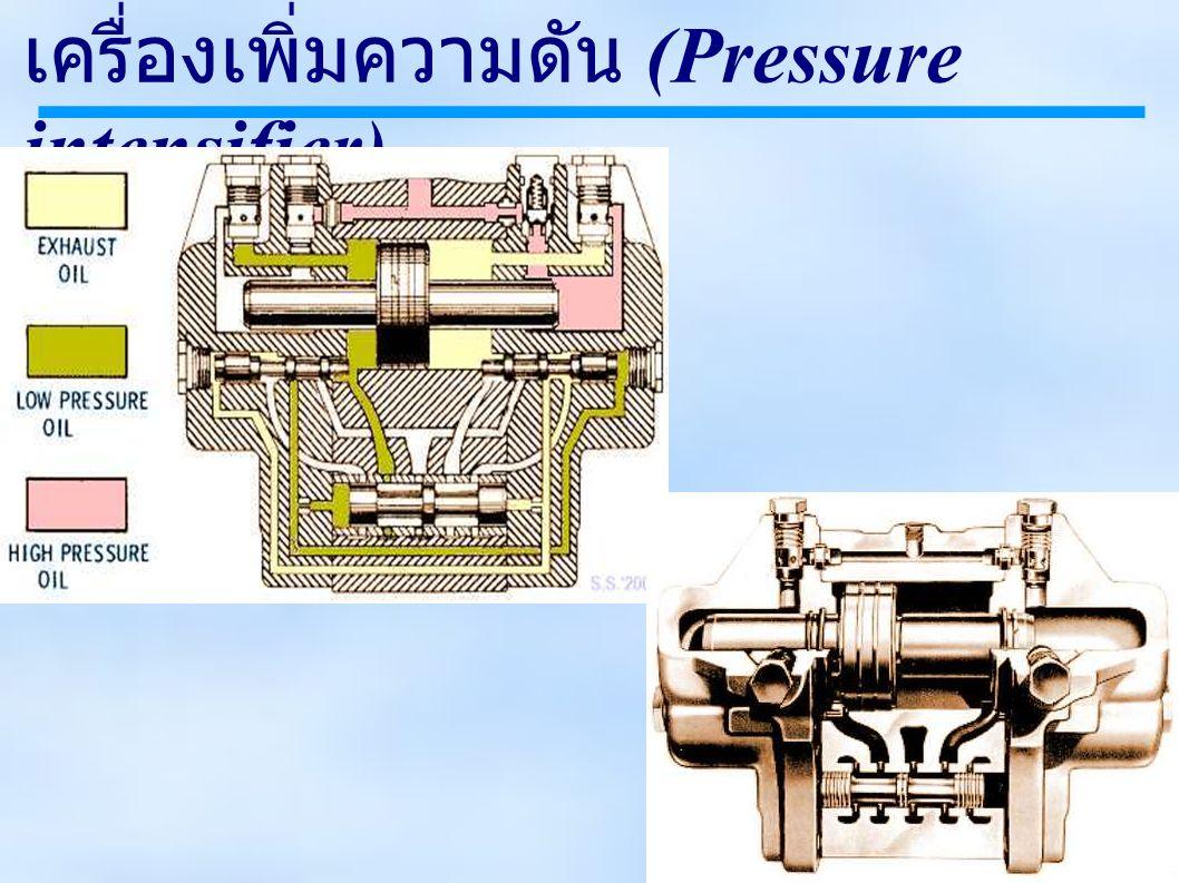 เครื่องเพิ่มความดัน (Pressure intensifier)