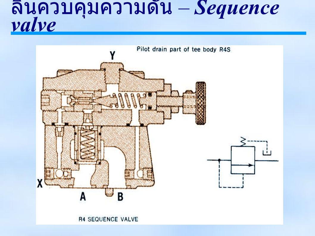 ลิ้นควบคุมความดัน – Sequence valve