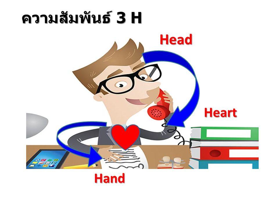 ความสัมพันธ์ 3 H Head Heart Hand