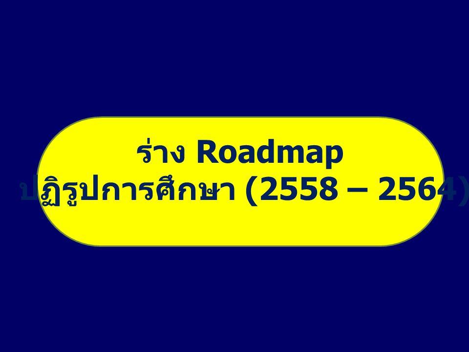 ร่าง Roadmap ปฏิรูปการศึกษา (2558 – 2564)