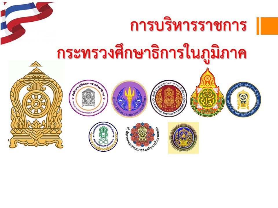 การบริหารราชการ กระทรวงศึกษาธิการในภูมิภาค