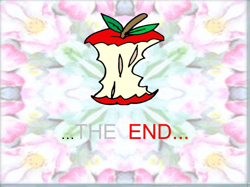 … THE END...
