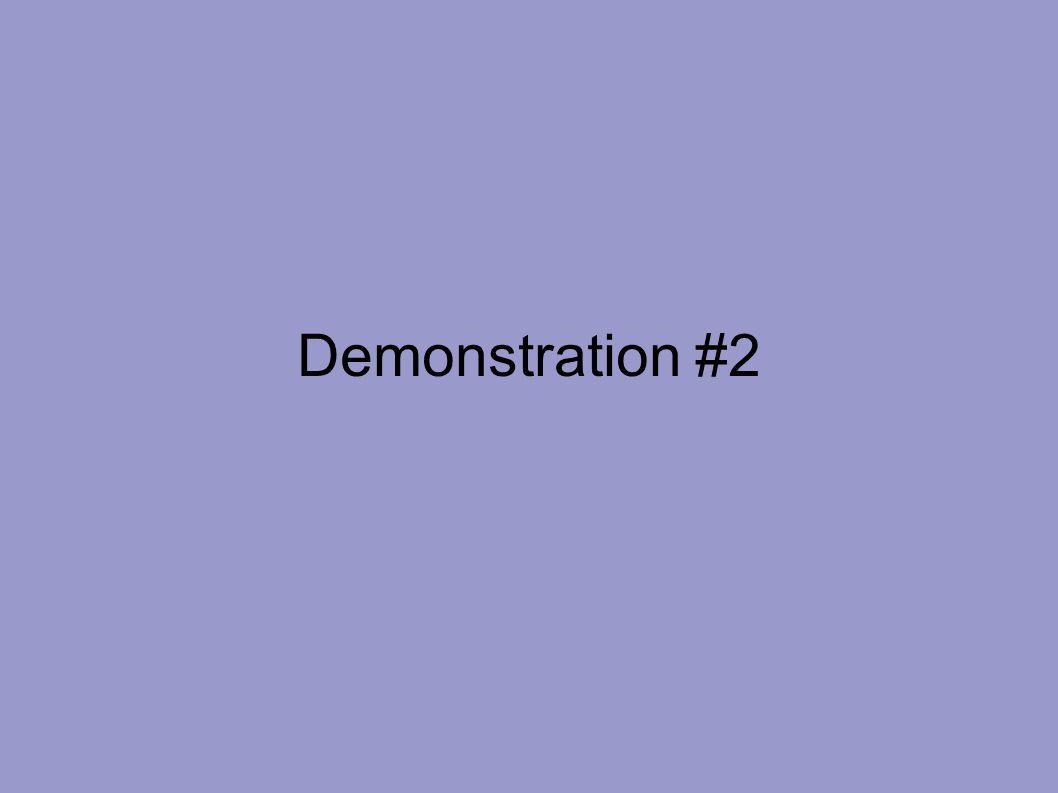 Demonstration #2