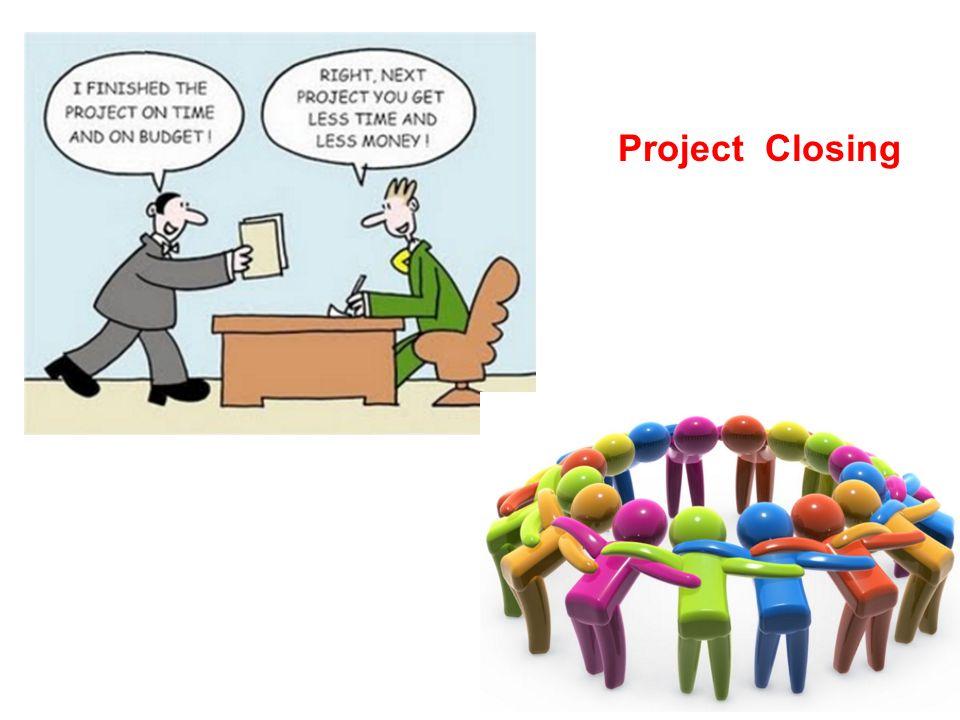 ปัจจัยพื้นฐานที่ทำให้โครงการไม่ประสบ ความสำเร็จ การกำหนดวัตถุประสงค์ของ โครงการขาดความชัดเจน การวางแผนโครงการไม่ดีพอ ผู้บริหารโครงการไม่มีความสามารถและ ไม่เข้าใจเนื้อหาสาระของโครงการ ผู้บริหารระดับสูงไม่ให้ความสำคัญต่อ โครงการ ผู้ปฏิบัติงานขาดความรู้สึกเป็นทีมงานหรือ มีความผูกพันต่อโครงการ จำนวนผู้ดำเนินงานในโครงการมากเกินไป