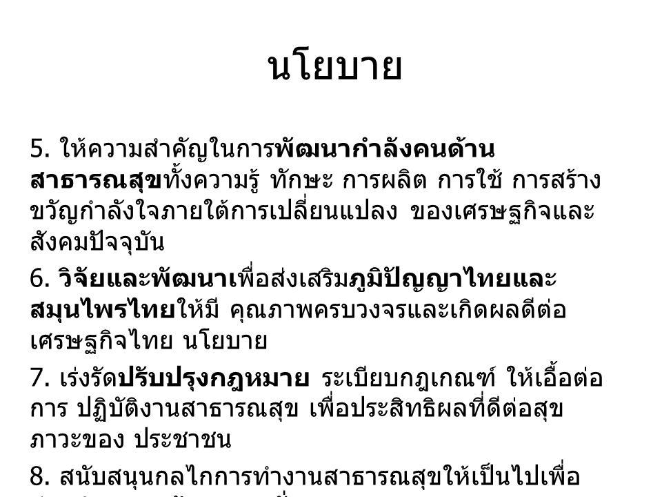 นโยบาย 5.