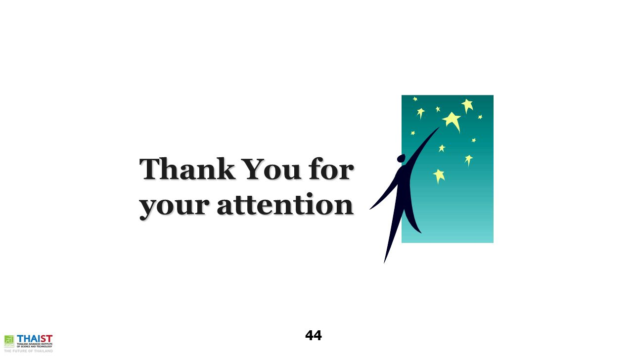 Thank You for your attention 44