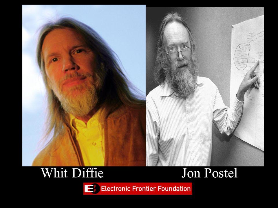 Whit Diffie Jon Postel