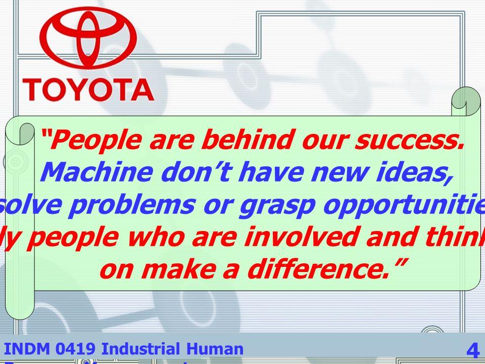 INDM 0419 Industrial Human Resource Management 15 รายงานรายบุคคล ( สรุปและ วิจารณ์บทความ ) 5.