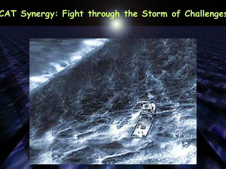 How can we fight through the storm