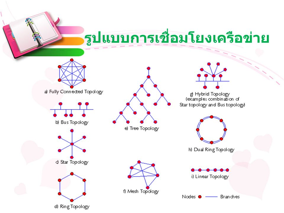 รูปแบบการเชื่อมโยงเครือข่าย