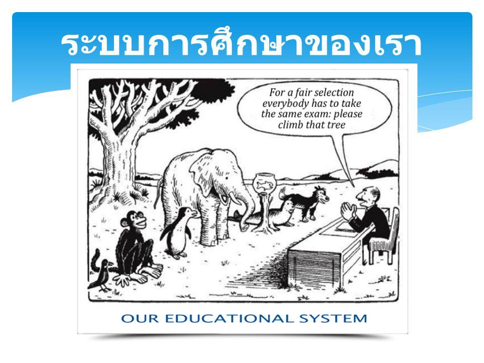 ระบบการศึกษาของเรา