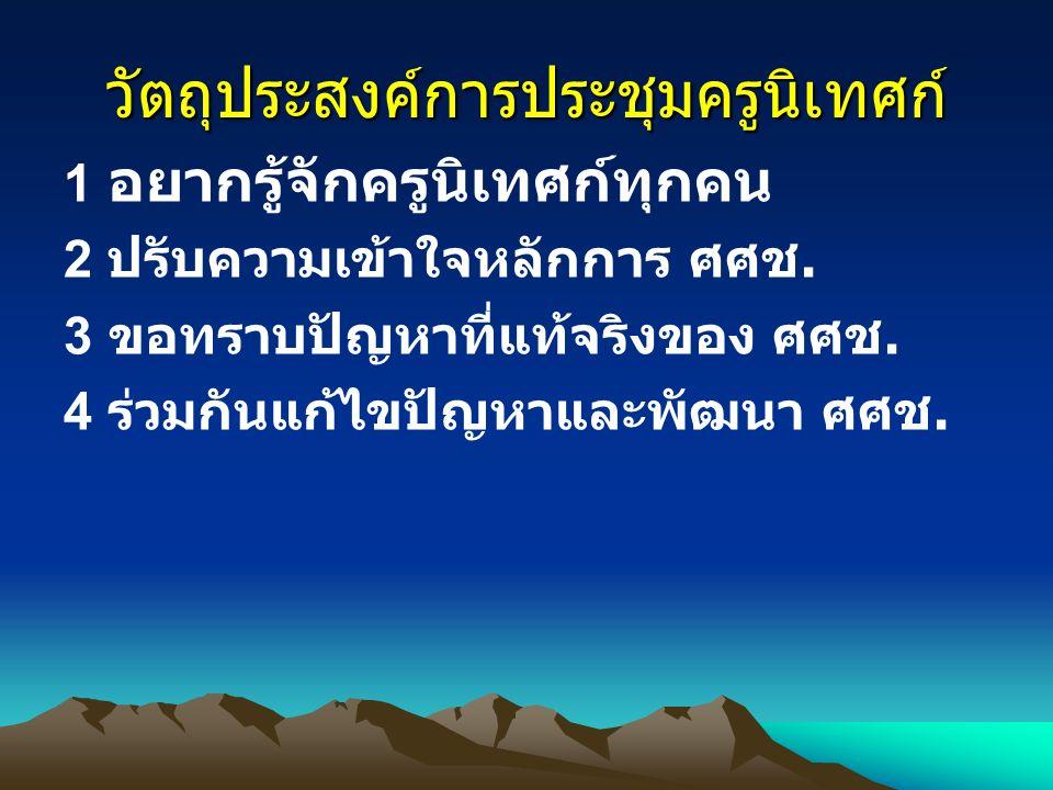 ทบทวนการจัดการศึกษาบนพื้นที่สูง โครงการศูนย์การศึกษาเพื่อชุมชน ชาวไทยภูเขา ( ศศช.) หลักสูตรประถมศึกษาเพื่อชุมชนชาว ไทยภูเขา พ.