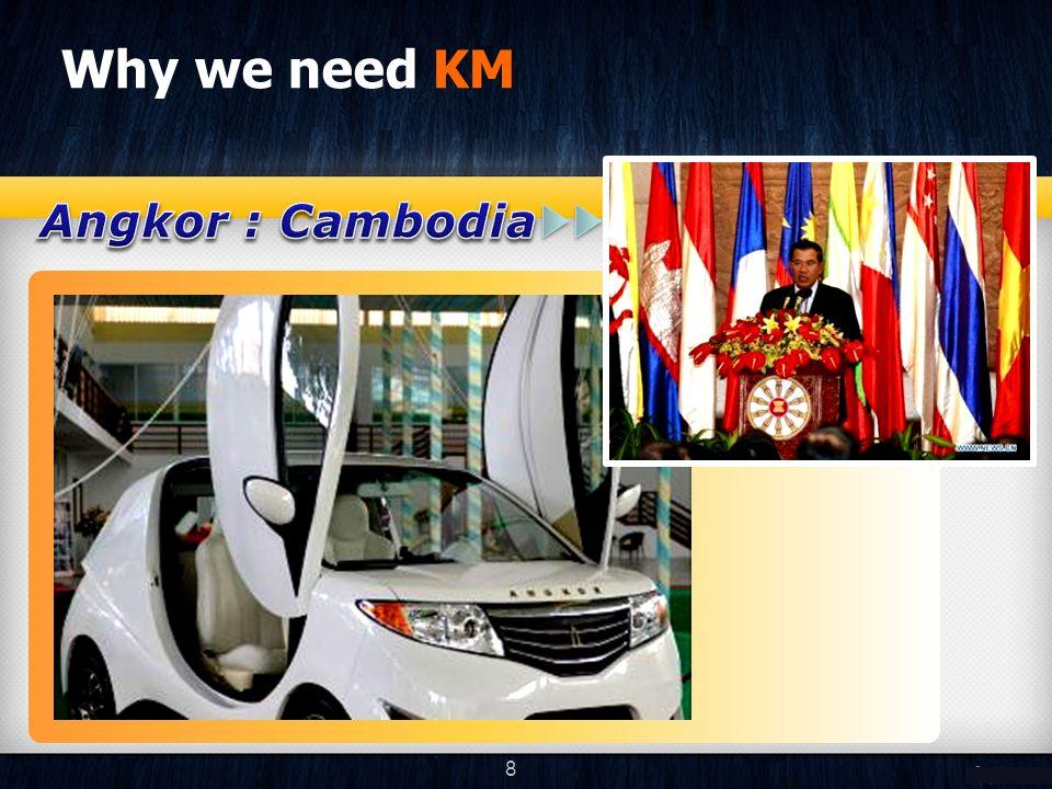 Why we need KM 8