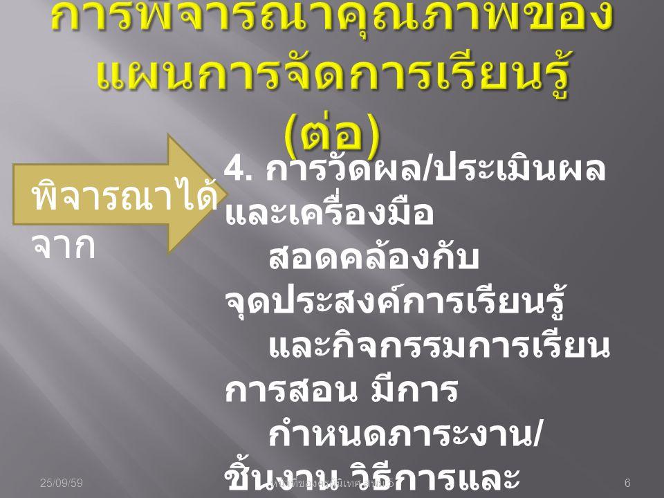 คือ หลังจากทำการ สอนเสร็จแล้วใน แต่ละครั้งจะต้อง บันทึกผลหลัง สอน 25/09/597 หน้าที่ของครูผู้นิเทศ สพม.5