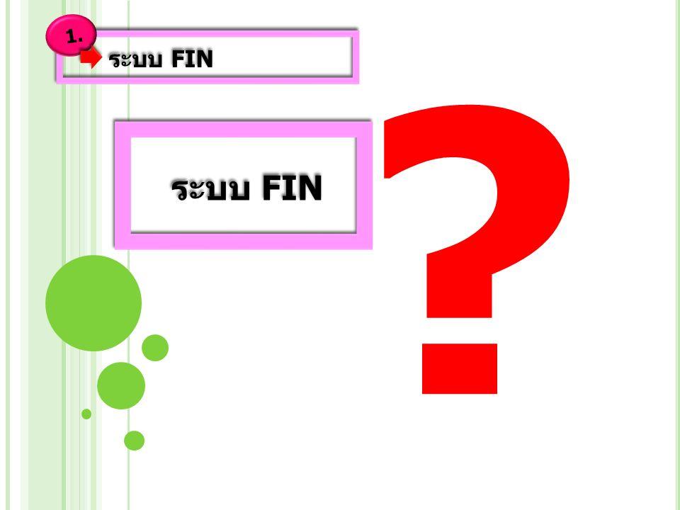 ระบบ FIN 1.